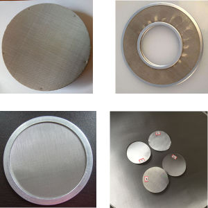 Stainless Steel Extruder Screen Packs/Filter Screen Packs/Circular Mesh Screen pictures & photos