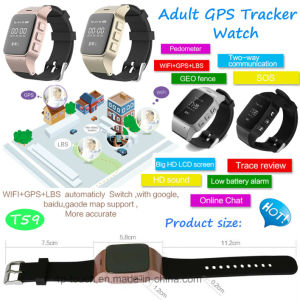 Elderly GPS Tracker Watch with Sos Button pictures & photos