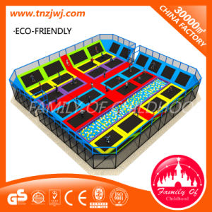 Factory Price Wall Trampoline Playground Equipment Trampoline Park pictures & photos