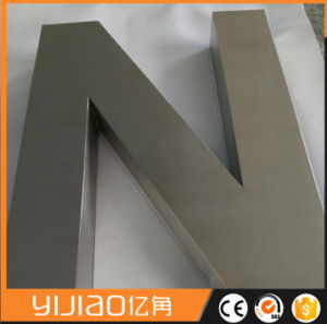 Anti-Rust Wholesale Stainless Steel Signages pictures & photos