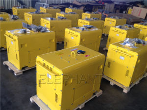 5.0kVA Portable Silent Diesel Generator pictures & photos