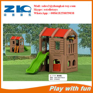 China Factory Playground Outdoor House for Kids pictures & photos