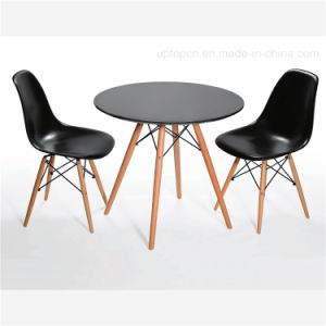 Factory Price Popular Plastic and Beech Eames Table (SP-GT188) pictures & photos