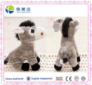 Cuddly Soft Talking Electronic Donkey Plush Toy Custom pictures & photos