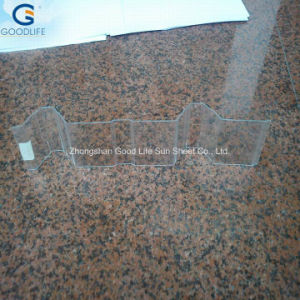 1.2mm Polycarbonate Plastic Corrugate Panel pictures & photos
