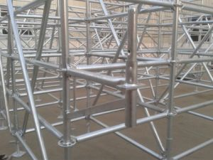 Ringlock Scaffolding Ledger with Hot DIP Galvanized Surface pictures & photos