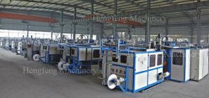 Automatic Inline Cup Forming Machine (model IN-TF70T) pictures & photos