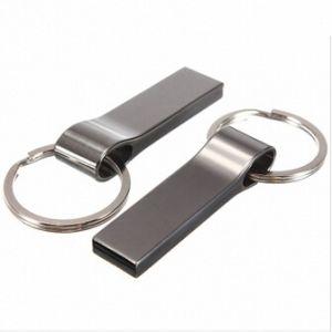 1/2/4/8/16g/32GB Clip Metal USB Flash Drive Keychain U Disk