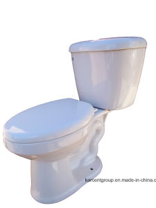 Two Piece Ceramic Sophinic Toilet with Ce Certification 00002 pictures & photos