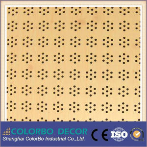 Interior Decorative Board Wooden Acoustic Panel for Auditorium pictures & photos