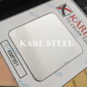 High Quality 201 Stainless Steel Color Kmf001 Mirror 8k Sheet pictures & photos