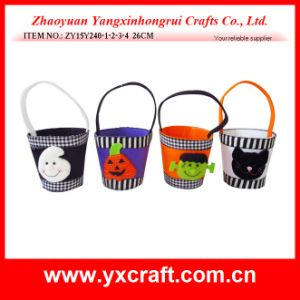 Halloween Decoration (ZY15Y240-1-2-3-4) Halloween Gift Felt Box Cupcake Boxes pictures & photos