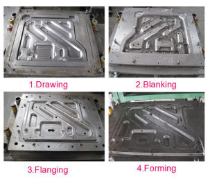 Stamping Die/Progressive Tooling/Metal Forming Parts of Automobile (J03) pictures & photos