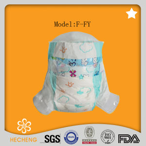 Economic Disposable Baby Diaper with Cute Printed OEM Brand pictures & photos