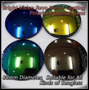 Bright Vision Revo Mirror Coating Polarized Optical Lens pictures & photos