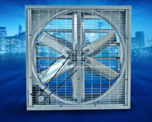 275mg/M2 Galvanize Thickness 380V/3phase Wall Mounted Exhaust Fan pictures & photos