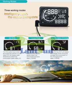 Car Auto Parts Accessories Head up Display pictures & photos