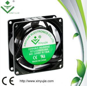 80mm Aluminum House High Powerful 8025 AC Mini Fan 220V pictures & photos