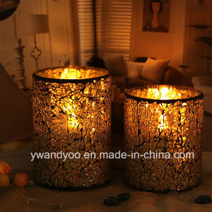 Luxury Tealight Mosaic Glass Candle Holder