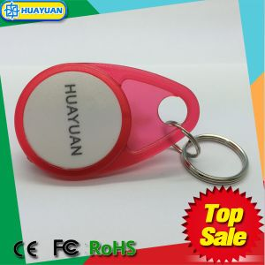 Customized RFID Access Identification ABS Keytag with Logo Printing pictures & photos
