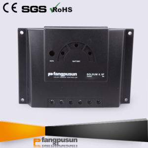 PV Panel Photovoltaic System 12V 24volt Street Light Solar Power Charge Controller 6A pictures & photos