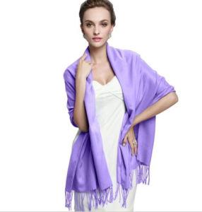 Women Fashion Long Cashmere Pashmina Scarf Wrap (66061) pictures & photos