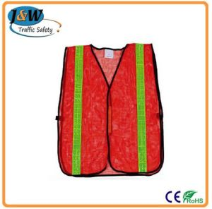 Cheap Reflective Red Safety Vest / Jacket pictures & photos