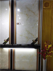 Polished Glazed White Marble Tile Floor Ceramic Tiles pictures & photos