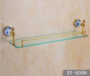 Sanitary Ware Single Glass Shelf (A-8309) pictures & photos