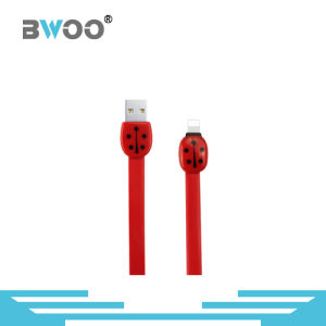 Cheap Price Flat USB Data Cable with Lightning Micro Pin pictures & photos