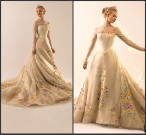 Embroidery Bridal Gowns Illusion Sleeves Wedding Dresses Y1010 pictures & photos