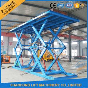 Garge Hydraulic Scissor Elevator Electric Car Lift pictures & photos