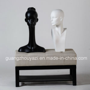 Fiberglass Female Mannequin Head with Shoulder pictures & photos