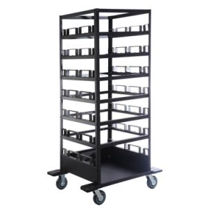 Excellent Maneuverability Barricade Cart Move& Store Multiple Stanchions pictures & photos