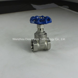 NPT Thread Light Type Gate Valve with Ce Certificate (DICO Brand) pictures & photos