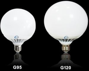 E27/B22 High Lumen G95 G120 LED Lamp pictures & photos