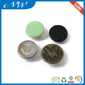 Available Metal Press Snap Button in Nickle Color pictures & photos
