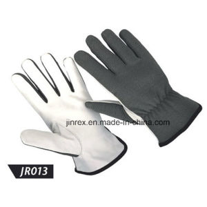 Promotional Leather Mechanics Working Construction Safe Hand Glove pictures & photos