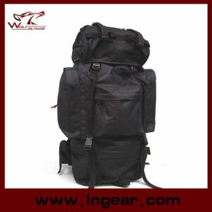 Large Capacity 65L Combat Camping Backpack for Hiking Military Bag pictures & photos