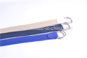 Factory Price New Design Double Loop Buckle Man Fabric Belt pictures & photos
