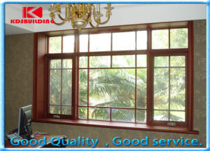 Modern Security Design Wood Awning Window (KDSW152)