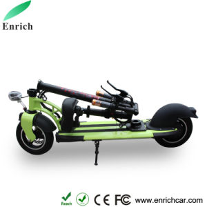 Green Folding Electric Bike Foldable Skateboard Scooter pictures & photos