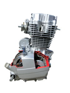 125cc Cg Motorcycle Engine pictures & photos