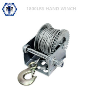 1800lbs Hand Winch Trailer Winch pictures & photos