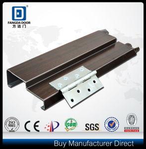 Fangda American 6 Panel Metal Main Steel Door pictures & photos