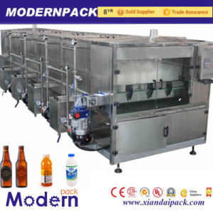 Continuous Spray Bottle Milk Beer Sterilization Machine Price pictures & photos