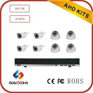 720p CMOS IR Cut Onvif 8CH Ahd DVR Kits pictures & photos