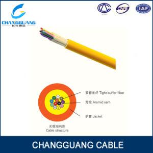 Tight Buffer Fiber PVC/LSZH Jacket Fiber Optic Cable GJFJV