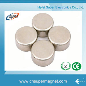 N38 Nickel Strong Permanent Disc Sintered NdFeB Magnet pictures & photos