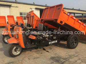 1-3ton Loading Capacity Mining Electric Tricycle, Samll Diesel/Electric Dumper for Sale pictures & photos